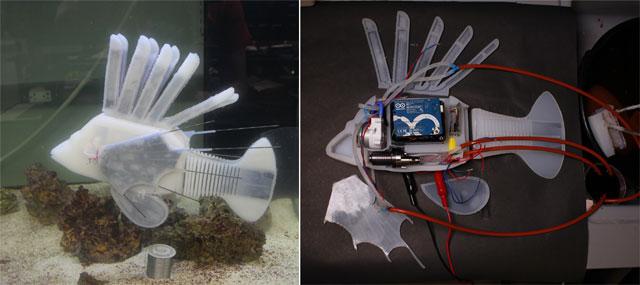 생물처럼.. 몸속 피 흐르는 로봇 물고기가 스르르 헤엄쳤다.jpg