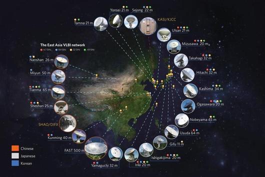 손 맞잡은 한·중·일 전파망원경…허블이 울고 가네.jpg