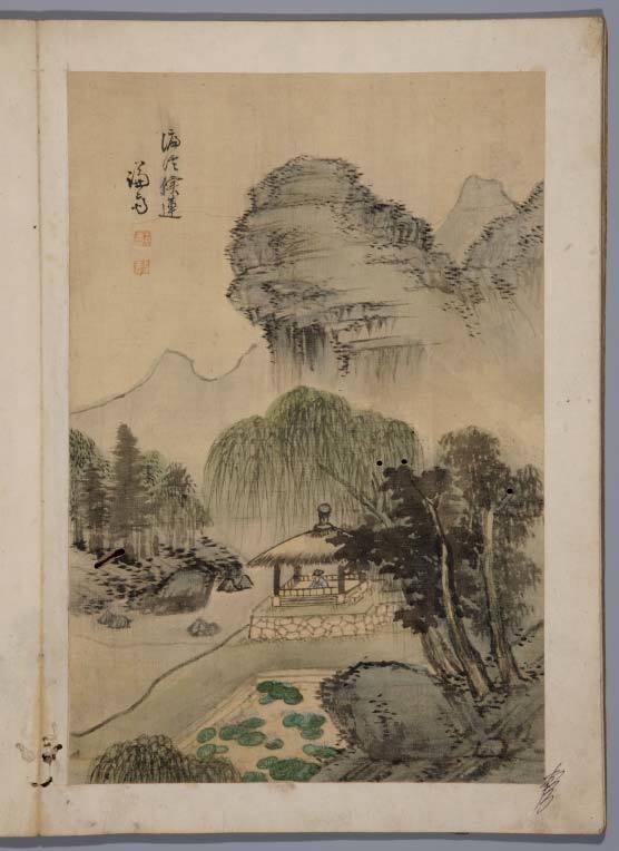 18세기 거장 정선의 국가보물 그림첩 경매 나온다.jpg