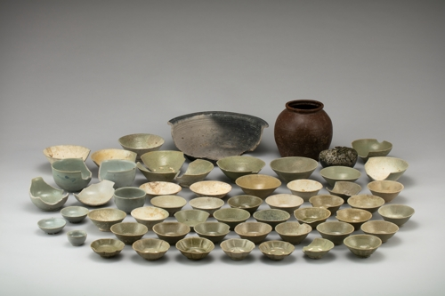 영광 낙월도 해역서 나온 고려청자는 11세기 해남산.jpg